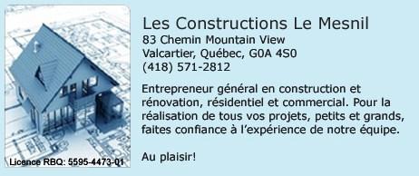 construction le Mesnil