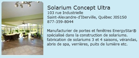 Solarium concept Ultra