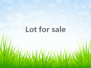 19000606 - Vacant lot for sale