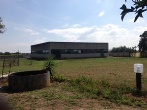 Industrial building and land for sale