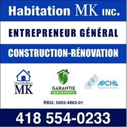 Habitation MK inc. michel kirouac