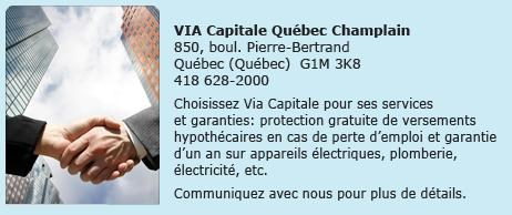Via Capitale Quebec Champlain