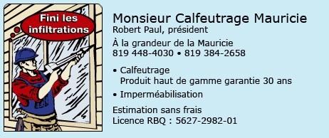 Mr calfeutrage