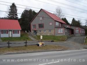 Bâtisse et terrain commerciaux à vendre