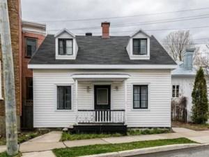 12960328 - Maison à 1 étage et demi à vendre