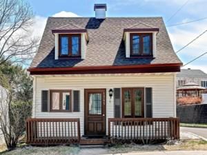 13589464 - Maison à 1 étage et demi à vendre