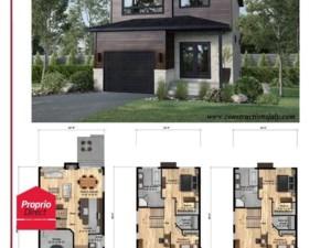 23615862 - Maison à étages à vendre