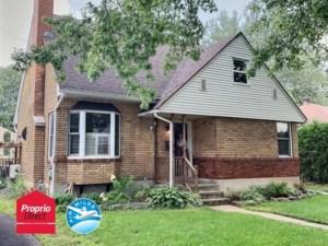 15949208 - Maison à 1 étage et demi à vendre