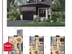 15408826 - Maison à étages à vendre