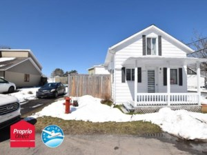 13829238 - Maison à 1 étage et demi à vendre