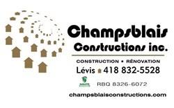 Champsblais Constructions inc Claudia Blais