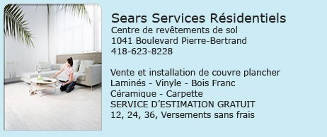 Couvre plancher sears