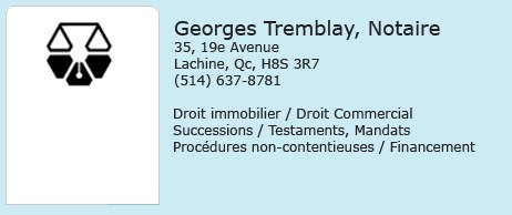 Georges Tremblay Notaires