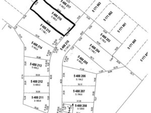 13234361 - Terrain vacant à vendre