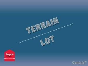 18495601 - Terrain vacant à vendre