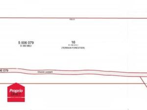 14980944 - Terrain vacant à vendre
