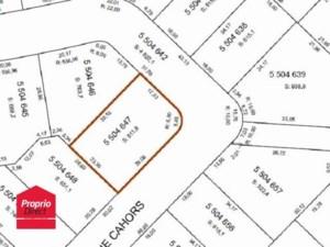 23957992 - Terrain vacant à vendre