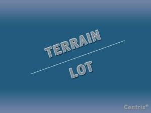 13230845 - Terrain vacant à vendre