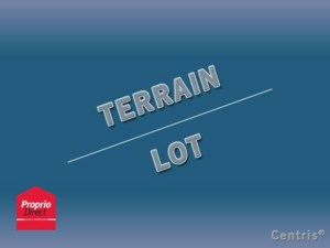 20391513 - Terrain vacant à vendre