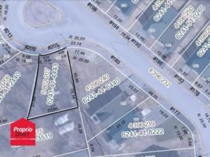 16554344 - Terrain vacant à vendre