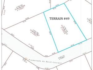 11852300 - Terrain vacant à vendre