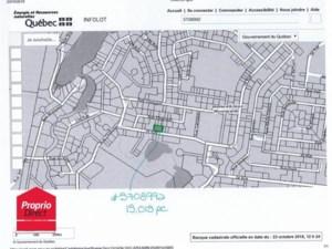 20988577 - Terrain vacant à vendre