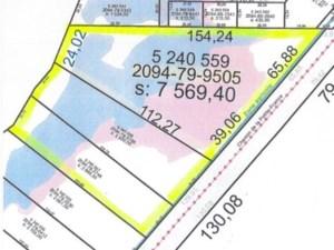 24508625 - Terrain vacant à vendre