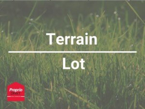 20336057 - Terrain vacant à vendre