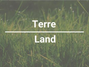 10204091 - Terrain vacant à vendre