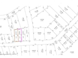 20468481 - Terrain vacant à vendre