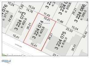 22234227 - Terrain vacant à vendre