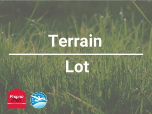 20347592 - Terrain vacant à vendre