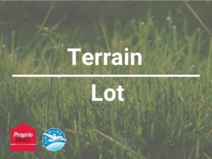 15021018 - Terrain vacant à vendre