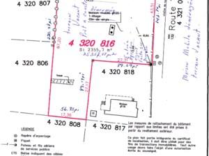 Terrain vacant à vendre